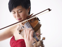 Cornell Concert Series: Jennifer Koh, violin, with Vijay Iyer, piano, and Cornell Chamber Orchestra
