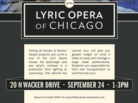 Lyric Opera House Field Trip