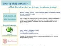 What's Behind the Glass?  A Multidisciplinary Lecture Series on Seafood