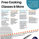 FREE Cooking Classes & More