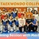 Texas Taekwondo College Day & Training Session with Master Lee