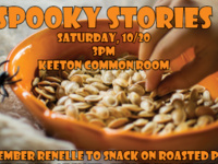 Pumpkin Seeds and Spooky Stories