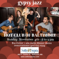 Gypsy Jazz with Hot Club of Baltimore