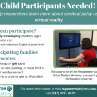 8-16 year olds needed for virtual reality research study!