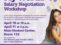 My Worth: Salary Negotiation Workshop