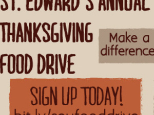 St. Edward's Annual Thanksgiving Food Drive