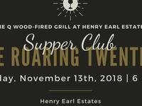 Supper Club with the Q - Roaring Twenties @ Henry Earl Estates