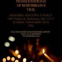 Transgender Day of Remembrance Vigil