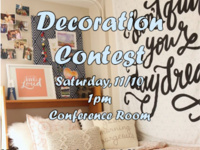Room Decorating Contest