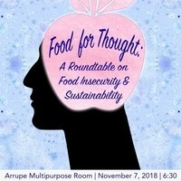 Food for Thought: Roundtable Discussion on Food Insecurity & Sustainability