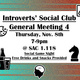 Introverts' Social Club Meeting 4