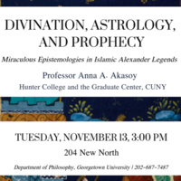 Divination, Astrology, and Prophecy