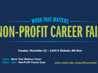 Work That Matters: Non-Profit Career Fair