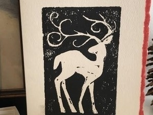 Holiday Card Printmaking Workshop
