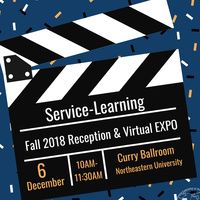 Fall 2018 Service-Learning Reception & Virtual EXPO