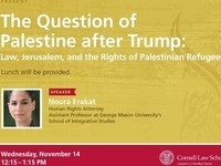 The Question of Palestine after Trump: Law, Jerusalem, and the Rights of Palestinian Refugees