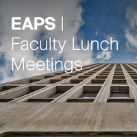EAPS Faculty Lunch - Spring Vacation: No Faculty Lunch