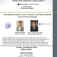 Identifying Perceptions of Gun Violence in the Most Impacted Communities of Chicago