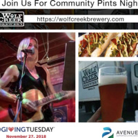 Avenues Community Pints Night for #GivingTuesday