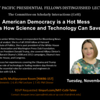 MIT Presidential Fellows Distinguished Lecture