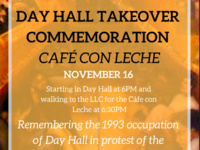 25th Anniversary of the Day Hall Takeover