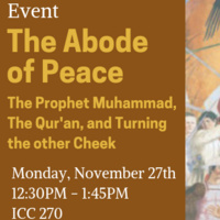 The Abode of Peace: The Prophet, the Qur'an, and turning the other cheek
