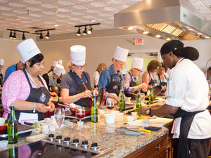 Weekly Cooking Classes at Chateau Elan