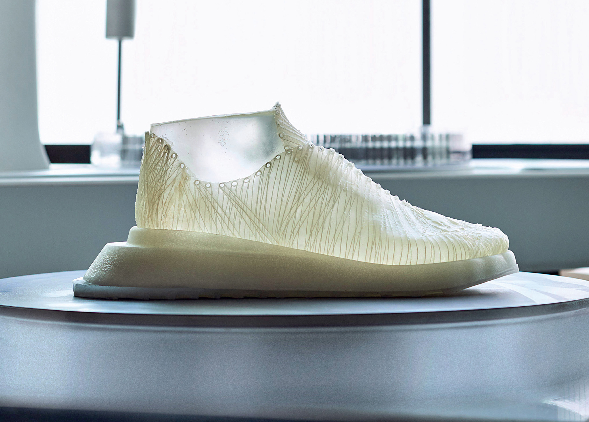 This is Grown:  Material Driven Design  within the Sportswear  Industry and  Bio-fabricated Futures