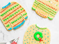 Ugly Sweater Sugar Cookie Party @ Frosted- The Cupcake Shop