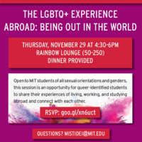 IdentityX Series Abroad: The LGBTQ+ Experience Abroad - Being Out in the World
