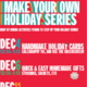 Make Your Own Holiday Series: HANDMADE ORNAMENTS
