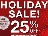 25% off Holiday Sale at The Cornell Store