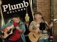 "Terry LaMont & Jim Raymond ""We Ain't Brothers"" - live music @ Plumb Cellars"