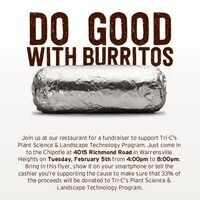 Chipotle Fundraiser - Eastern Campus PST