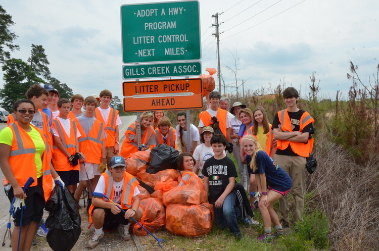 GCWA Adopt-A-Highway Cleanup