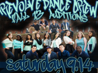 Revolve Dance Crew Fall Auditions