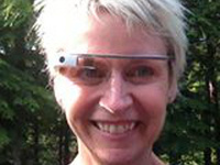 "Janet's Jaunt: GO GO GADGET ""Google Glass,"" with Cynthia Johnston Turner"