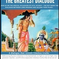 #Talk- The Greatest Dialogue ( On The Occasion of Advent of Bhgavad Gita)