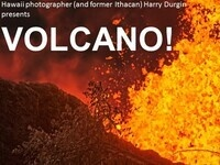 Volcano! This past year's dramatic eruption in Hawaii