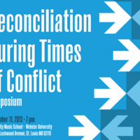 Reconciliation During Times of Conflict Symposium