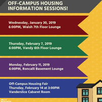 Off-Campus Housing Information Sessions