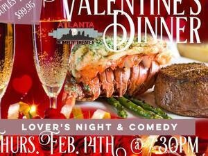 Steak & Lobster Valentines Dinner