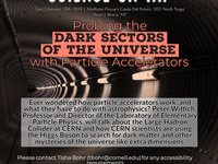 """Science on Tap: """"Probing the Universe with Particle Physics"""""""