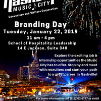 Nashville Convention & Visitors Corp. Branding Day