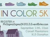 Phi Sigma Sigma Covered in Color Philanthropy 5K