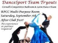 DanceSport Team Tryouts