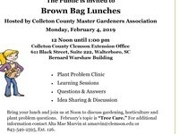 CLEMSON EXTENSION'S BROWN BAG LUNCHES