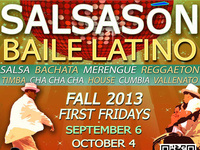 Salsa & Latin Dance Party :: First Fridays :: Welcome Back Fall 2013