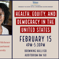 """""""Health, Equity, and Democracy in the United States."""""""