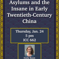 Asylums and the Insane in Early Twentieth-Century China